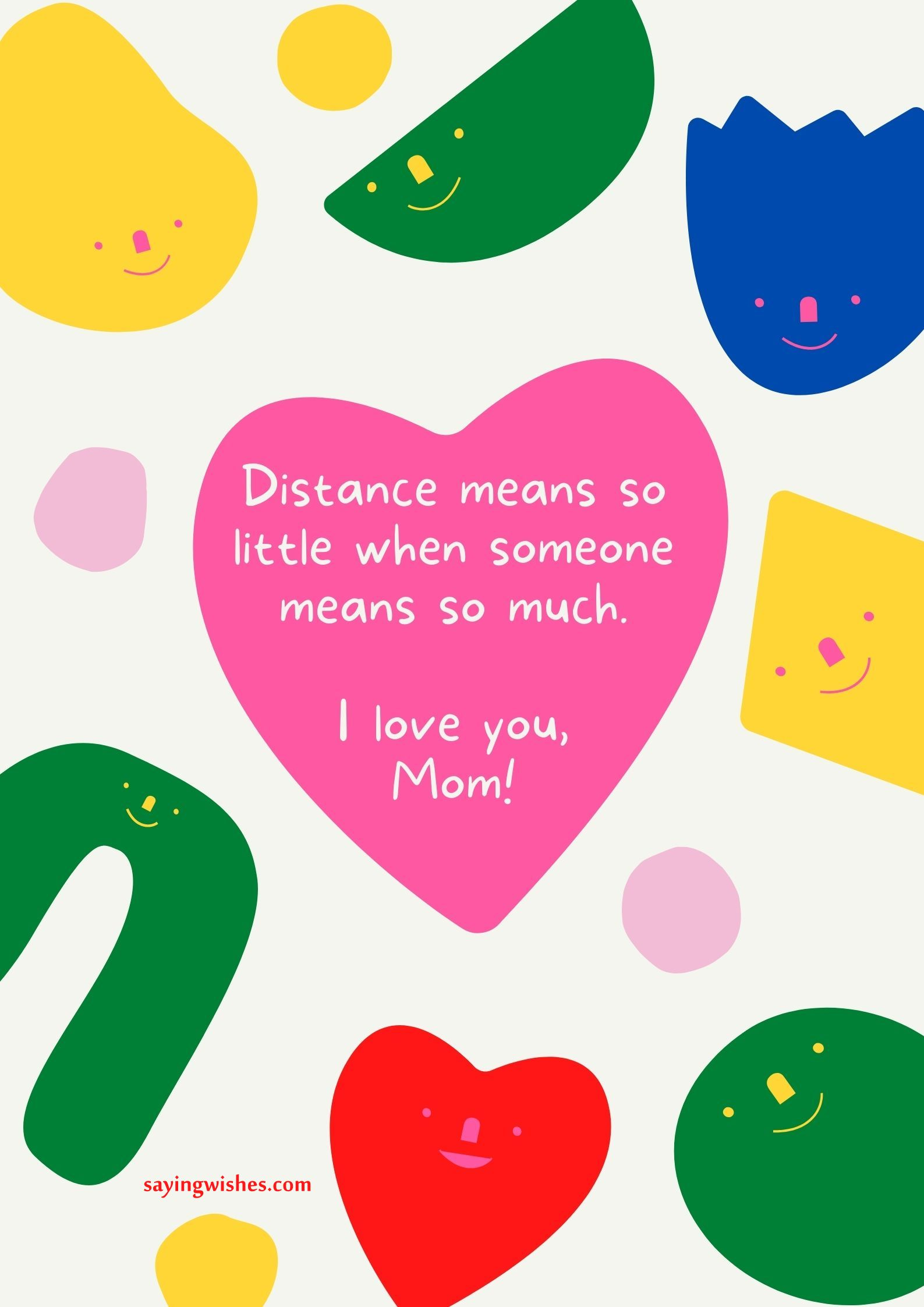 thank you messages for mom from daughter