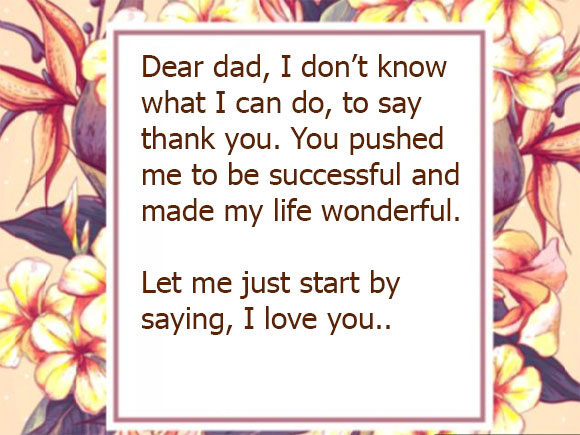 i love you messages for dad