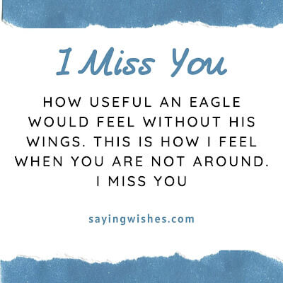 emotional heart touching miss you messages for him