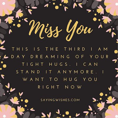 touchy miss you messages for him