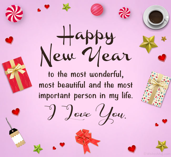 New Year Wishes wishes for boyfriend