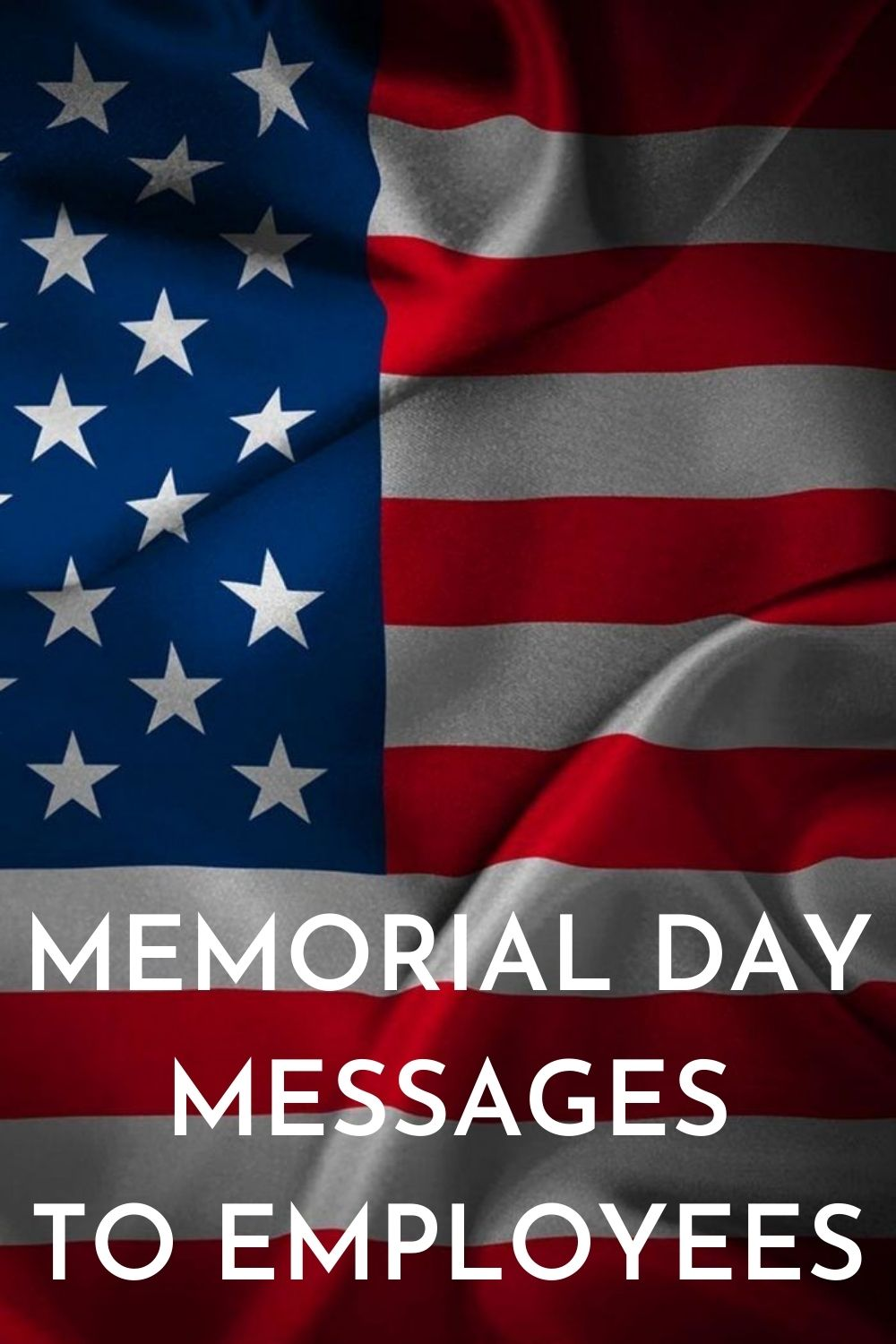memorial day messages to employees