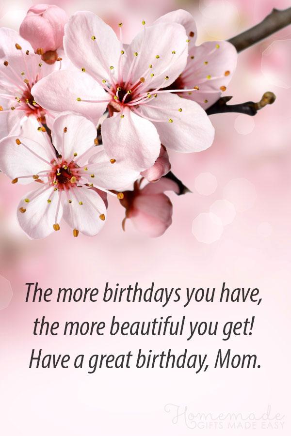 happy birthday whatsapp status for mom
