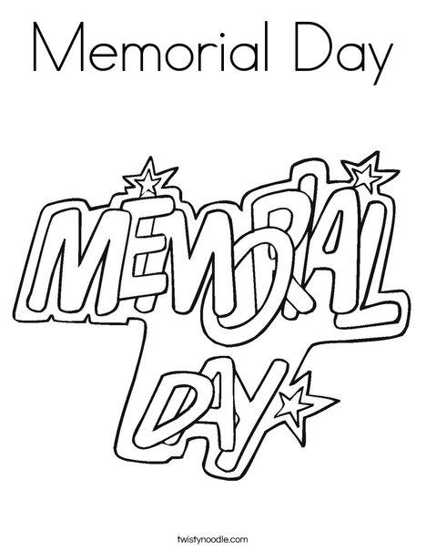 memorial day printable coloring sheets