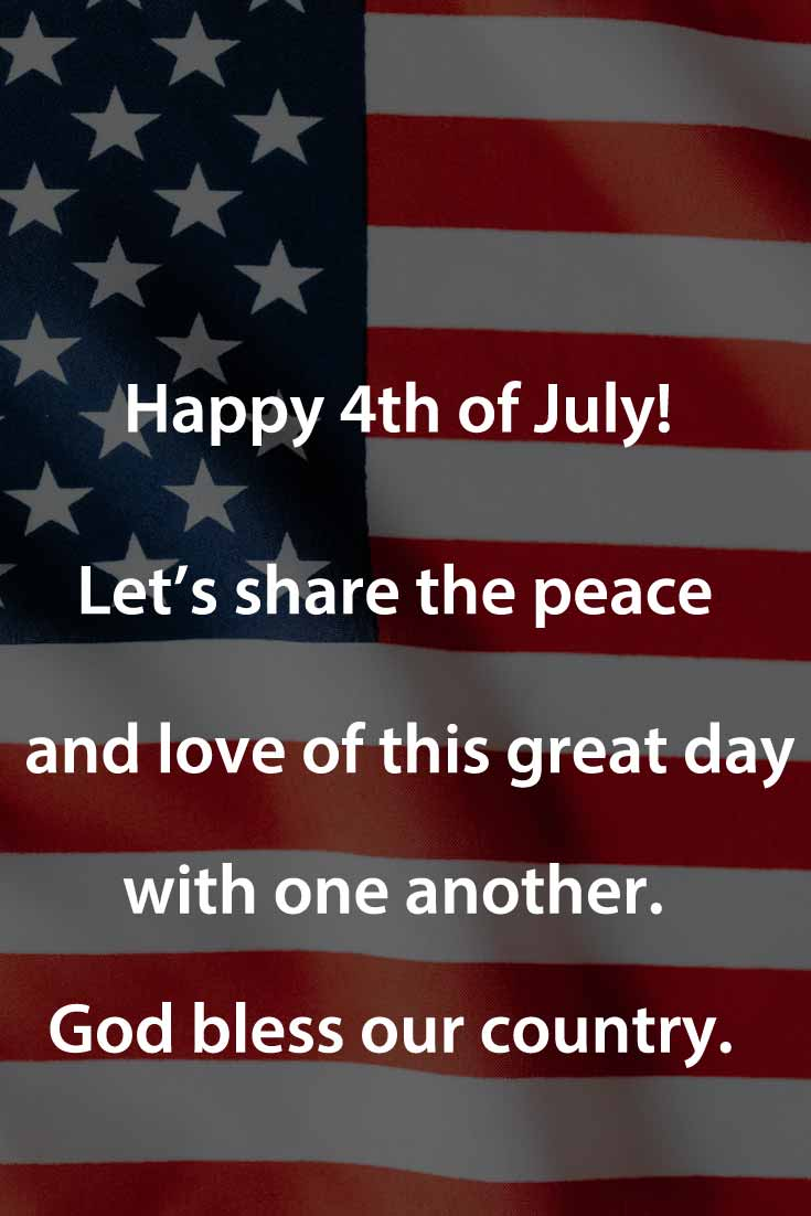 4th of july wishes to coworkers
