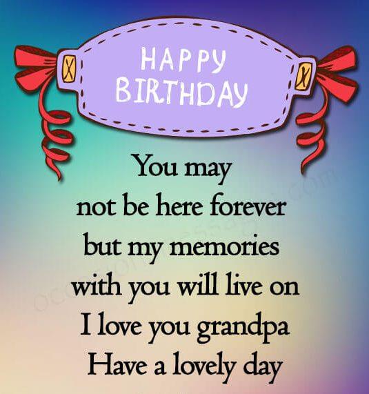 happy birthday wishes for grandpa