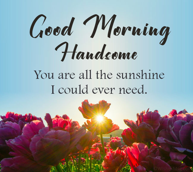 good morning wishes for husband