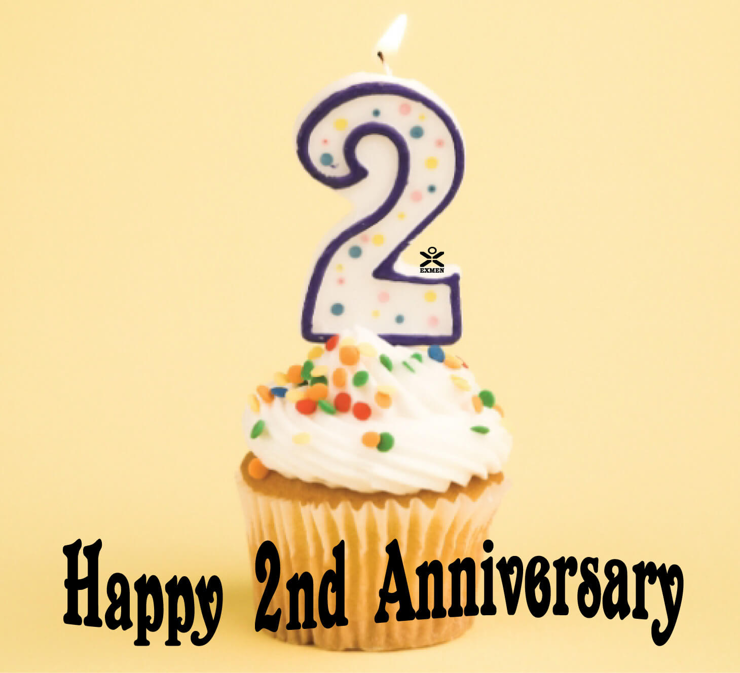 Happy 2nd anniversary wishes for brother