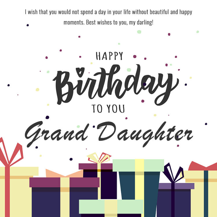 heart toing birthday messages for granddaughter