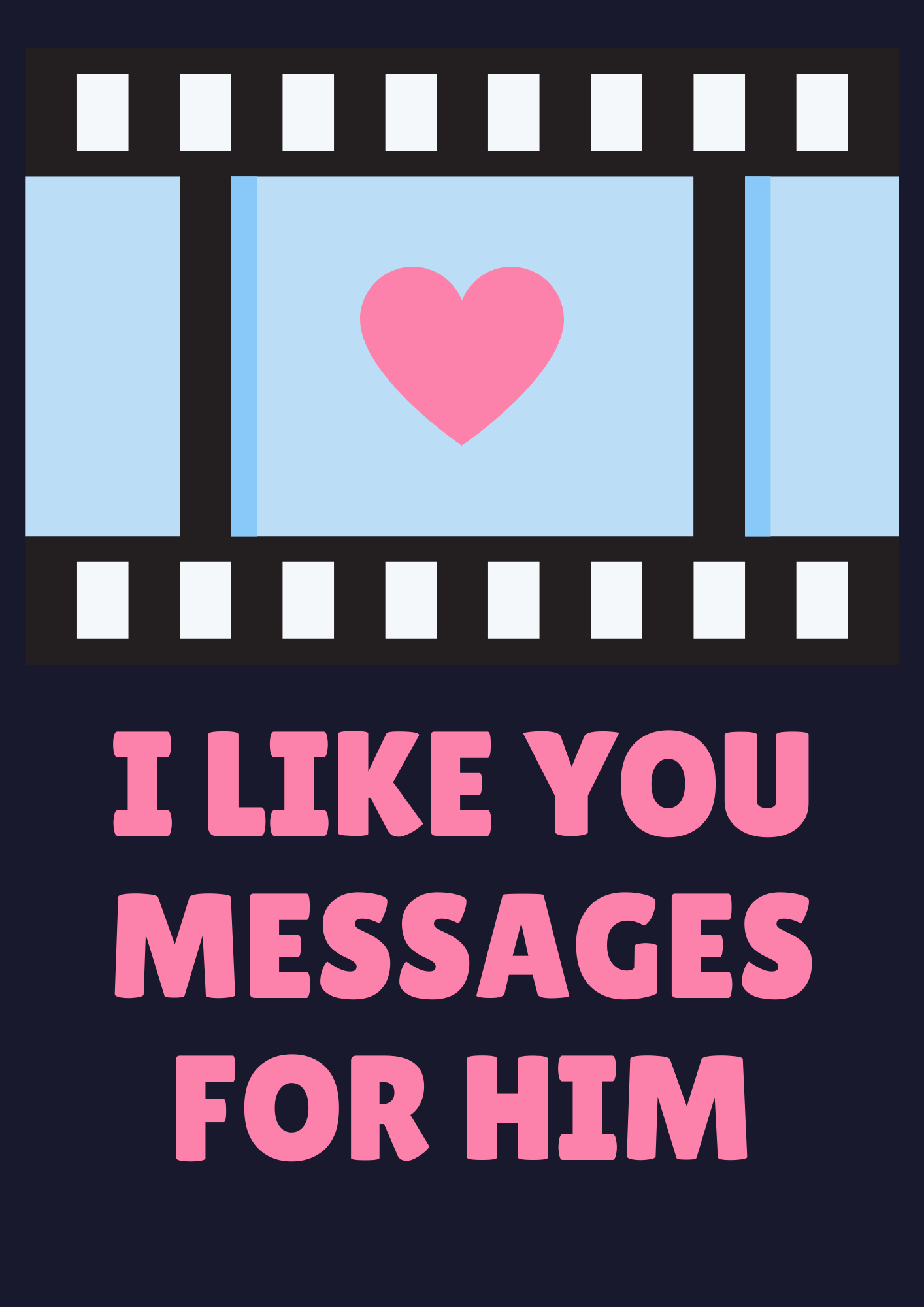 i like you messages for him