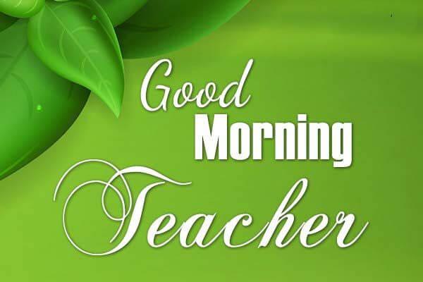 best good morning teacher msgs