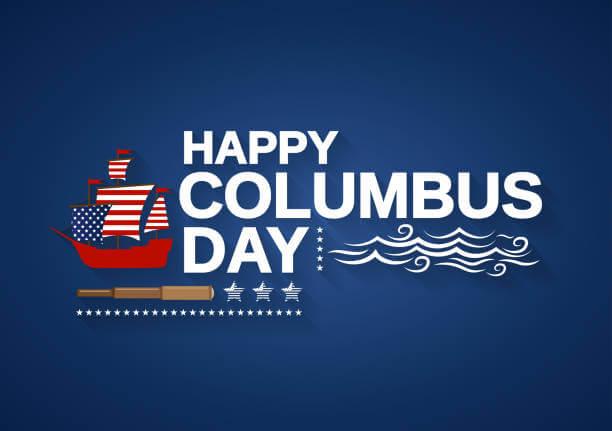 columbus day status update for fb and whatsapp