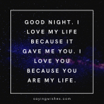good night whatsapp status