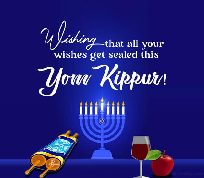 yom kippur wishes for family