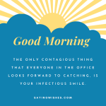 good morning messages for employees