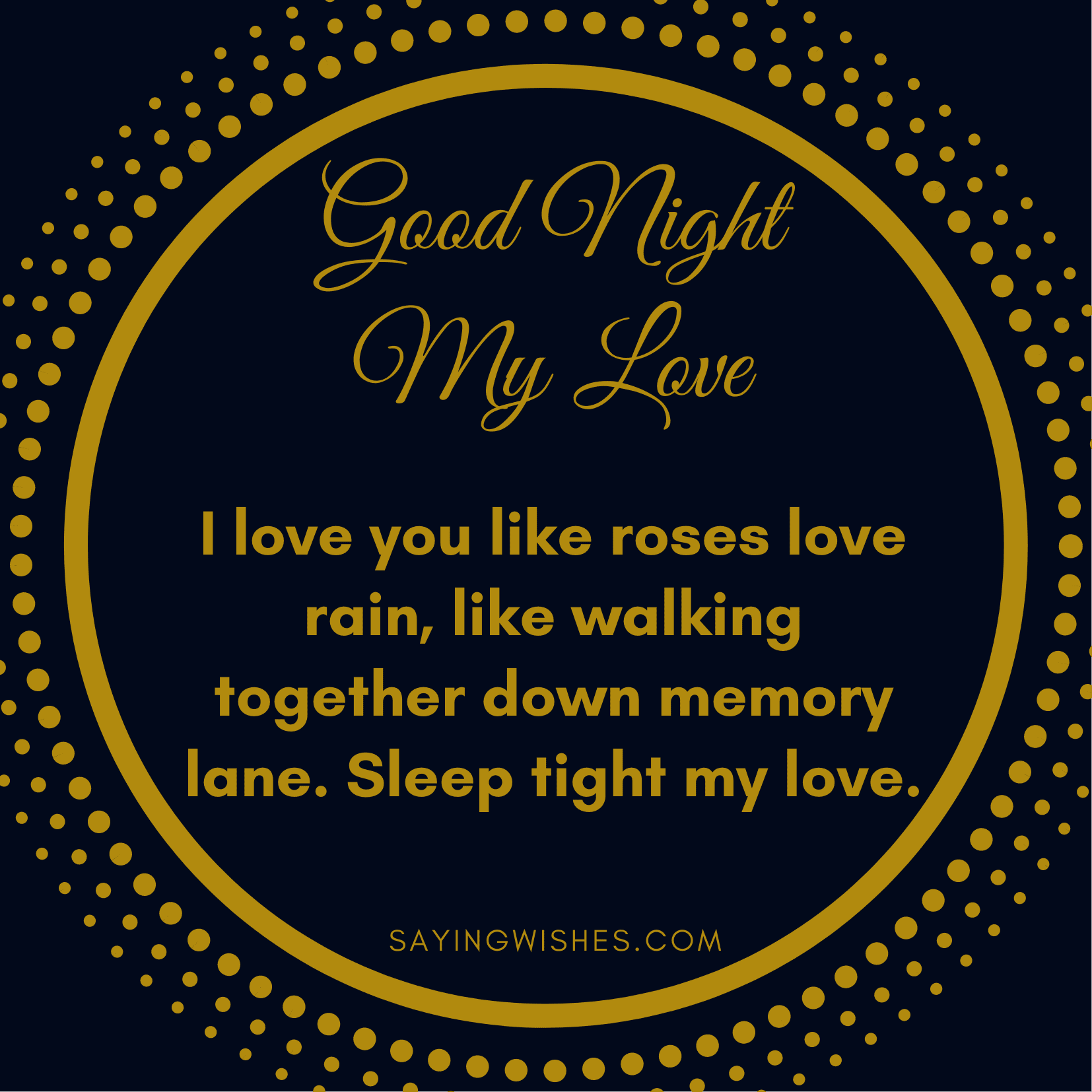 romantic good night messages for long distance girlfriend